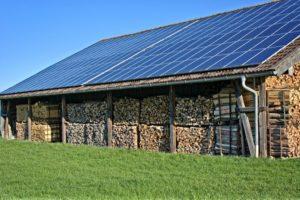 panneaux solaire offert