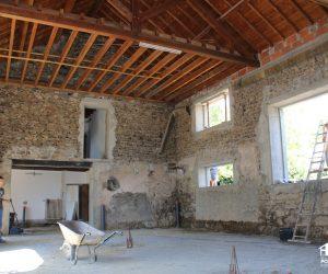 Création d'ouvertures maison ancienne