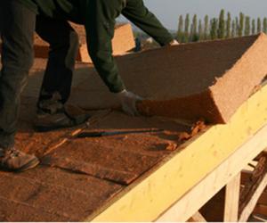 Isolation toiture fibre de bois